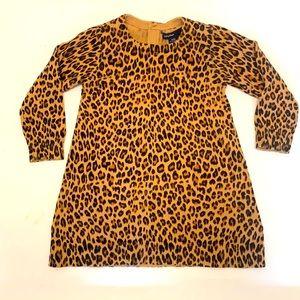 BabyGAP leopard print sweater dress 🐆 💕
